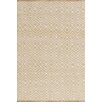 Bunny Williams for Dash and Albert Annabelle Wheat Diamond Indoor/Outdoor Rug