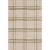 Bunny Williams for Dash and Albert Cooper Moss Plaid Rug