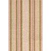 Bunny Williams for Dash and Albert Phoebe Pink Stripe Indoor/Outdoor Rug