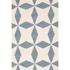 Bunny Williams for Dash and Albert Lucy Juniper/Beige Graphic Indoor/Outdoor Area Rug