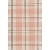 <strong>Bunny Williams for Dash and Albert</strong> Molly Pink Plaid Indoor/Outdoor Rug