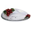 Cristiani Collezione Limited Edition Decorative Crystal Plate with Apples