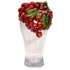 <strong>Cristiani Collezione</strong> Limited Edition Apple Sculpture on Crystal Vase