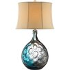 """Stein World Aura 32"""" H Table Lamp with Bell Shade"""