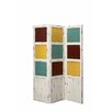 "Stein World 72"" Cayuga 3 Panel Screen Room Divider"