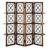 "<strong>72"" x 60"" Urban Natural 4 Panel Room Divider</strong> by Stein World"