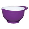 <strong>Colourworks Large Purple Melamine Two Tone Mixing Bowl</strong> by KitchenCraft