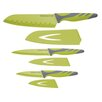 <strong>Colourworks 3 Piece Soft Grip Knives Set</strong> by KitchenCraft
