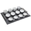 <strong>Thirteen Pieces Appetiser Gift Set with Slate Tray Dishes and Spoon...</strong> by KitchenCraft