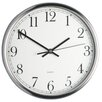 <strong>Stainless Steel 25cm Clock</strong> by KitchenCraft