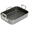 <strong>Master Class Non-Stick 36cm x 27cm x 7.5cm Roaster with Cast Handle...</strong> by KitchenCraft