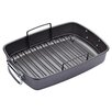 <strong>Master Class Non-Stick 42.5cm x 29.5cm x 7cm Roaster with Rack</strong> by KitchenCraft