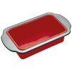 KitchenCraft Master Class Smart Silicone 23cm x 13cm Rigid Support Loaf Pan with Sleeved