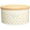 <strong>Classic Ceramic Bread Bin with Wooden Lid</strong> by KitchenCraft