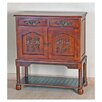 <strong>Windsor Hand Carved Wood Hall Console Table</strong> by International Caravan
