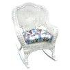 International Caravan Chelsea Outdoor Wicker Resin Patio Rocking Chair