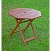 International Caravan Highland Acacia Folding Patio Table