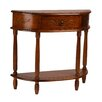 International Caravan Windsor Hand Carved Wood Console Table