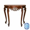 <strong>Windsor Hand Carved Wood Indoor Console Table</strong> by International Caravan