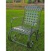 International Caravan Milano Iron Patio Rocking Chair