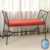 International Caravan Mandalay Metal Entryway Bench