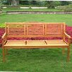 International Caravan Royal Tahiti Wood Park Bench