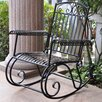 <strong>Tropico Iron Outdoor Porch Rocker</strong> by International Caravan
