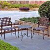International Caravan Santa Fe 3 Piece Patio Bistro Set