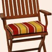 Blazing Needles Folding Chair Cushion (Set of 4)