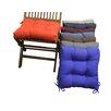 Blazing Needles Dining Chair Cushion (Set of 4)