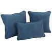 <strong>Blazing Needles</strong> Blazing Needles Micro Suede Pillow Package (Set of 3)