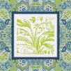Obvious Place Botanical Graphic Art on Canvas in Blue and Green