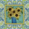 <strong>French Country Sunflowers Painting Print on Canvas in Multi</strong> by Obvious Place