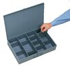 Durham Manufacturing Steel Adjustable Compartment Small Scoop Box