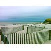 Graffitee Studios Cape Cod Beach Solitude Photographic Print on Canvas
