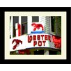 <strong>Graffitee Studios</strong> Cape Cod Lobster Pot - Provincetown Framed Photographic Print