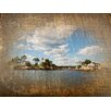 Graffitee Studios Connecticut Wooden Thimbles - Thimble Islands Photographic Print on Canvas