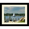 <strong>Connecticut Set Sail Framed Photographic Print</strong> by Graffitee Studios