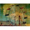 <strong>Graffitee Studios</strong> New York Ride The Ferris Wheel Photographic Print on Canvas
