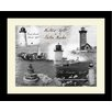 <strong>Graffitee Studios</strong> Lighthouse Historic Lights Boston Harbor Framed Photographic Print