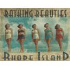 Graffitee Studios Rhode Island Bathing Beauties of Rhode Island Photographic Print on Canvas
