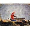 Graffitee Studios Coastal Quoahogger Photographic Print on Canvas