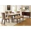 Kingstown Home Joselyn 6 Piece Dining Set