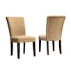 Kingstown Home Wingston Parson Chair (Set of 2)