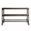 Kingstown Home Vienna Rectangle Industrial Console Table