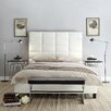 Kingstown Home High Profile Tufted Bed