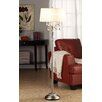 Kingstown Home Cortona Mist 1 Light Crystal Floor Lamp