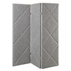 """<strong>72"""" x 72"""" Akari Diamond Detail 3 Panel Room Divider</strong> by Kingstown Home"""