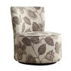 Kingstown Home Alfosa Floral Print Swivel Accent Chair