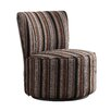 <strong>Alfosa Stripe Print Swivel Accent Chair</strong> by Kingstown Home